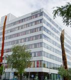 Ericsson kontorsbyggnad i Kista Royaltyfri Fotografi