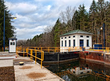 Erie canal Royalty Free Stock Image