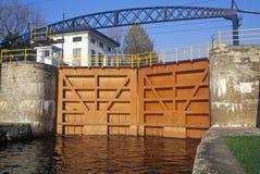 Erie Canal, 20 mile Park locks, Erie, NY Stock Photos