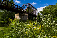 Erie Railroad Mahoning River Bridge Stock Photography