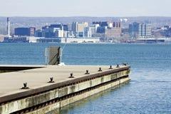 Erie - vista dalla sosta fotografia stock libera da diritti