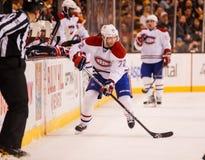 Erik Cole, i Montreal Canadiens Immagini Stock