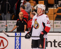 Erik Condra, Ottawa Senators Royalty Free Stock Photo
