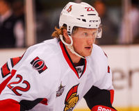 Erik Condra, Ottawa Senators Royalty Free Stock Images