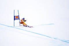 Erik Guay - Fis World Cup. Erik Guay (Canada) - Val Gardena Gröden, Italy - Super G - FIS Alpine Ski World Cup - 19 December 2008 Royalty Free Stock Photo