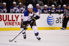 Erik Johnson St. Louis Blues Defenseman Stock Images