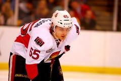 Erik Karlsson Ottawa Senators. Ottawa Senators defenseman Erik Karlsson #65 Royalty Free Stock Images