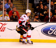 Erik Karlsson Ottawa Senators. Ottawa Senators defenseman Erik Karlsson #65 Royalty Free Stock Photography