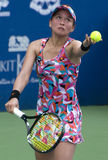 Erika Sema Japanese Tennis Player Royalty Free Stock Photography