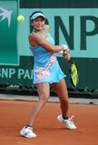 Erika Sema (JPN) at Roland Garros 2011 Royalty Free Stock Photo
