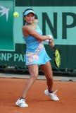 Erika Sema (JPN) in Roland Garros 2011 Royalty-vrije Stock Foto