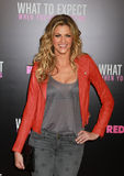 Erin Andrews. Television personality Erin Andrews arrives on the red carpet for the premiere of What To Expect When You're Expecting, at the AMC Lincoln Square stock images