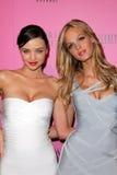 Erin Heatherton, Miranda Kerr, Victoria's Secret Obraz Stock