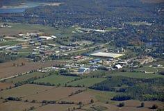 Erin Ontario, aerea Fotografia Stock Libera da Diritti