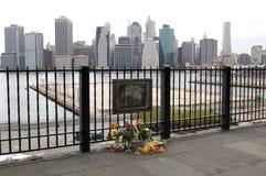 Erinnern an das World Trade Center auf 9/11. Lizenzfreies Stockbild