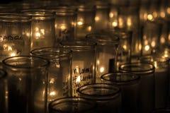 Erinnern an Kerzen Lizenzfreie Stockfotografie