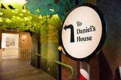 Erinnern Sie sich die an Kinder: Daniel's-Geschichte Stockfoto