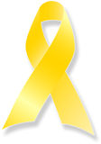 Erinnern Sie sich an unser Truppe-gelbes Farbband Lizenzfreie Stockbilder