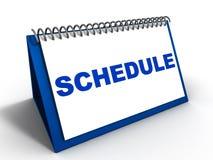 Erinnern Sie sich an Zeitplanverabredungen Lizenzfreies Stockbild
