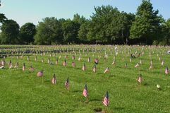 Erinnern an unsere Veterane Stockfotos