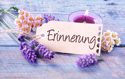 Erinnerung - Memories Royalty Free Stock Photography