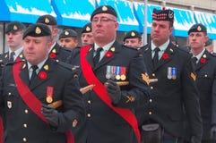 Erinnerung-Tagesparade Stockbild