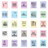 9-11 Erinnerungen stock abbildung