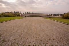 Erinnerungs-Buchenwald Stockbild