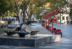 Erinnerungs-Tag in Baku Stockbild