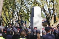 Erinnerungs-Tag und Monument Lizenzfreies Stockfoto