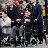 2015, Erinnerungs-Tagesparade, London Stockbild