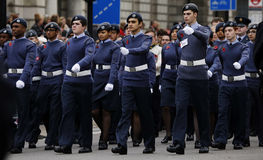 2015, Erinnerungs-Tagesparade, London Stockbilder