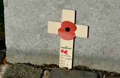 Erinnerungs-Tagesservice, Cannock-Verfolgung Lizenzfreie Stockbilder