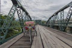 Erinnerungsbrücke Pai Thailand Lizenzfreies Stockfoto