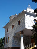 Erinnerungshaus von Mother Teresa, Skopje, Makedonien Lizenzfreies Stockbild