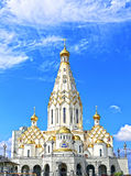 Erinnerungskirche aller Heiligen in Minsk Lizenzfreies Stockbild