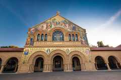 Erinnerungskirche bei Stanford University Stockbilder