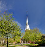 Erinnerungskirche, Harvard Lizenzfreies Stockfoto