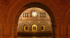 Erinnerungskirche in Stanford lizenzfreie stockfotografie