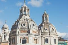 Erinnerungsmonument das Vittoriano oder der Altar des Vaterlands, herein Lizenzfreie Stockfotos