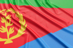 Eritrea flag Stock Photography