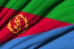 eritrea flagga Royaltyfri Fotografi