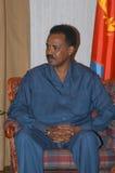 eritrea president fotografering för bildbyråer