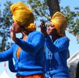 Eritrean Dancer Royalty Free Stock Images