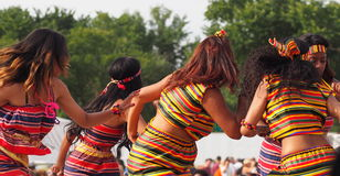 Eritrean Dancers Stock Photo