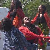 Eritrean Dancers Royalty Free Stock Photo