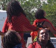 Eritrean Dancers Royalty Free Stock Image