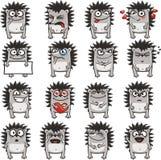 Erizos divertidos (2) Imagenes de archivo