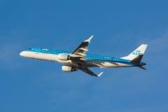 ERJ-190 KLM Stock Photography