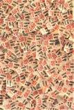 Erkännandebiljetter på den storstads- konstmuseet royaltyfri foto